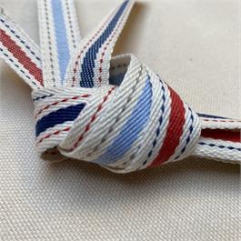 Italian Denim Stripe Ribbon thumbnail