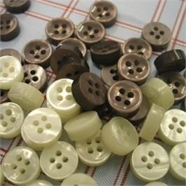THICK PLASTIC BUTTON 10MM thumbnail