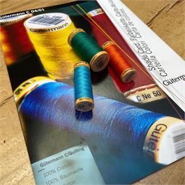 Gutermann Cotton Shade Card Thumbnail Image 1