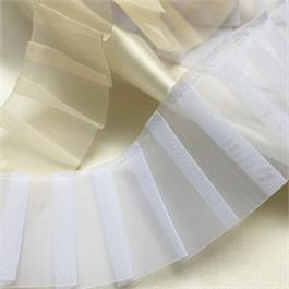 Polyester Organza Pleated Frill thumbnail