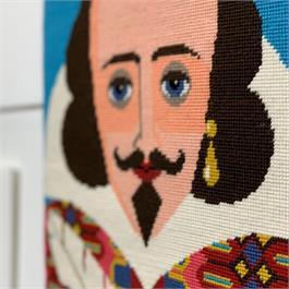 William Shakespeare Tapestry Kit thumbnail