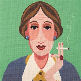 Virginia Woolf Tapestry Kit thumbnail