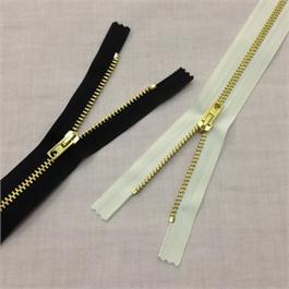 Rubi No.3 Brass Jean Zip 23cm thumbnail
