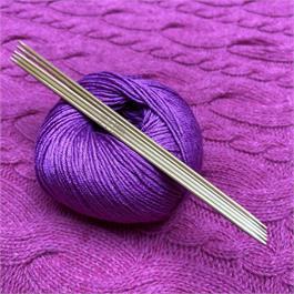 SeeKnit Koshitsu Double Pointed 2mm Bamboo Needles - 15cm - 5pk thumbnail