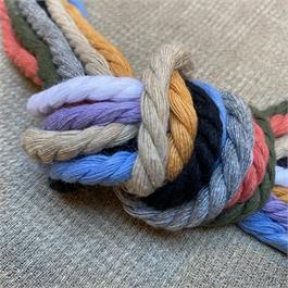 Pre-used Cotton Colour Lacing Cord thumbnail