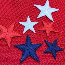 Fusible Rayon Star Motif thumbnail