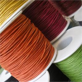 Fine Waxed Cotton String 1mm thumbnail