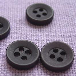 11mm Plastic Shirt Button thumbnail