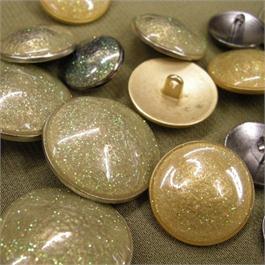 28mm Glitter Enamelled Button thumbnail