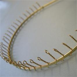 Metal Headband with Comb thumbnail