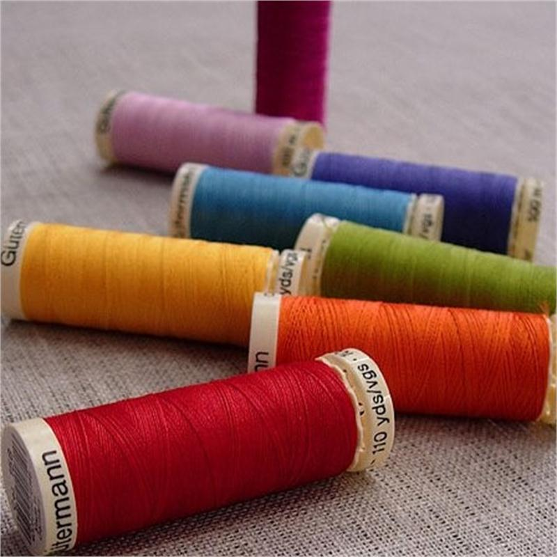 Colour 824 Gutermann Silk Thread Pure Silk Sewing Thread Natural 100m Reels